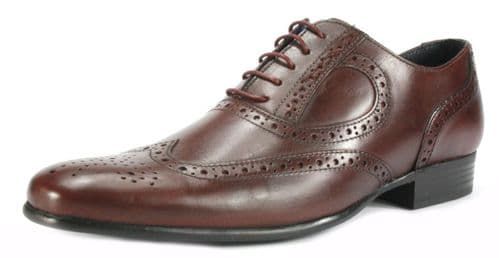 Red Tape Carlow Bordo Mens Shoes